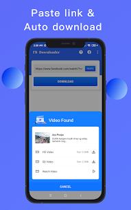 Video Downloader for Facebook – Video Saver Apk Download NEW 2021 4