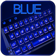 Cool Blue Keyboard