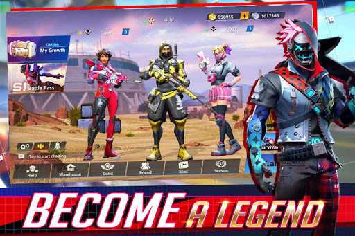 Télécharger Omega Legends  APK MOD (Astuce) screenshots 1