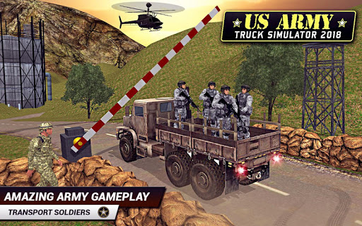 US Army Truck Driving 2018: Real Military Truck 3D apkpoly screenshots 7