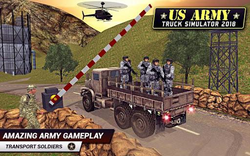 US Army Truck Driving 2021: Real Military Truck 3D apktram screenshots 7