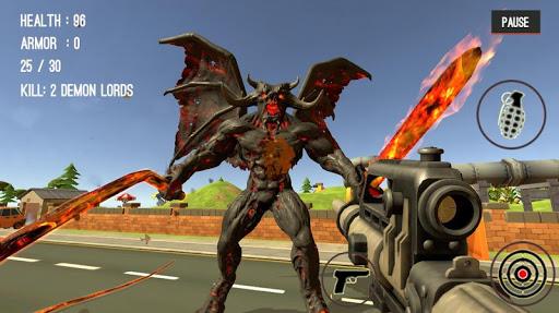 Monster Killing City Shooting II  screenshots 13