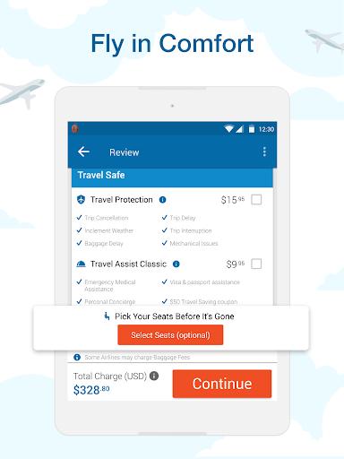CheapOair: Cheap Flights, Cheap Hotels Booking App 3.20.18 Screenshots 9