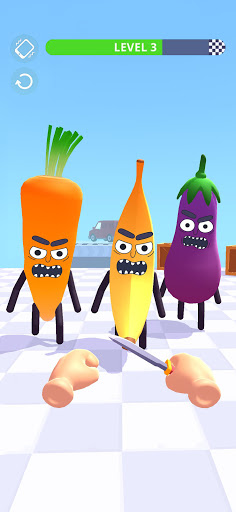 Hit Tomato 3D: Knife Throwing Master 1.7.2 screenshots 1