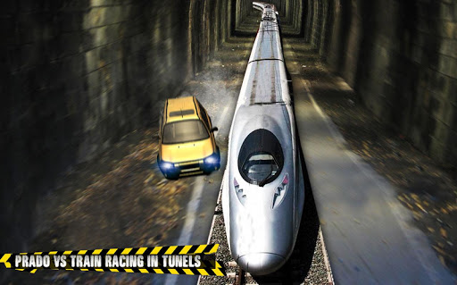 Train vs Prado Racing 3D: Advance Racing Revival modavailable screenshots 13