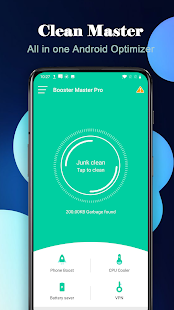 Booster Master Pro- Booster, Cleaner,Fast VPN Screenshot