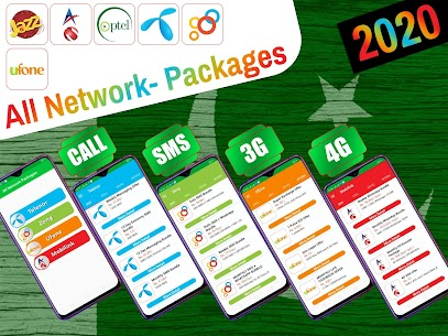 All Network Packages Pakistan 2021 APK 1