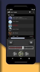 Dub Radio Pro v1.62 MOD APK – Free Music, News & Sports 3
