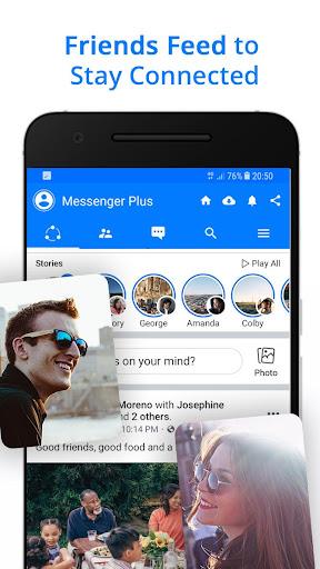 Messenger Go for Social Media, Messages, Feed 3.20.5 Screenshots 3