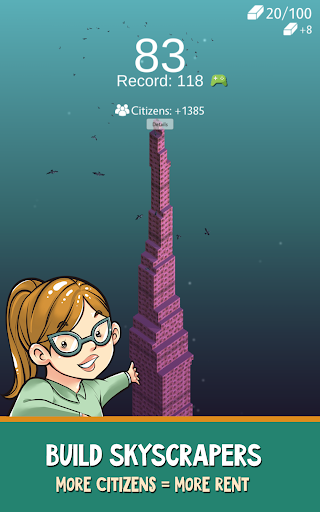 Sky Tower Tycoon u2013 Your Idle Adventure 2.3.5 screenshots 9