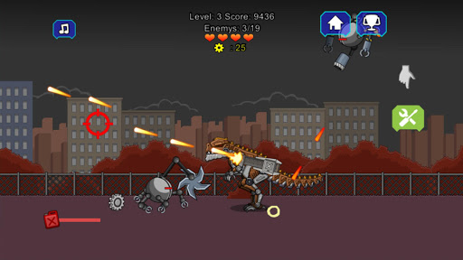 robot terminator t-rex screenshot 2