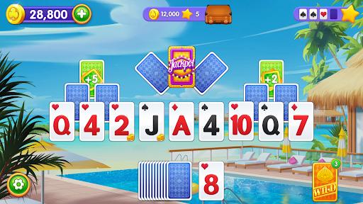 Solitaire Travel : Classic Tripeaks Card Game 1.1.9 screenshots 1