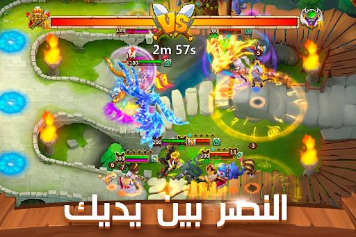 Castle Clash: u062du0631u0628 u0627u0644u062au062du0627u0644u0641u0627u062a 1.6.6 screenshots 3