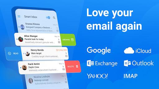 Spark Email u2013 Connect Gmail, Yahoo & Outlook mail apktram screenshots 1