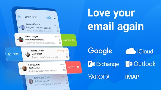 Spark Email – Connect Gmail, Yahoo & Outlook mail 1