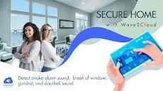 Wave2Cloud 家庭用防犯カメラ、オーディオモニターのおすすめ画像5