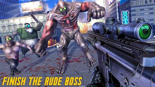 Zombie Army Dead War Shooting MOD APK (GOD MODE) 5