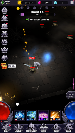 AFK Dungeon : Idle Action RPG  screenshots 8