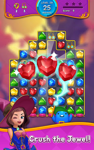 Jewel Witch - Best Funny Three Match Puzzle Game 1.8.2 screenshots 21