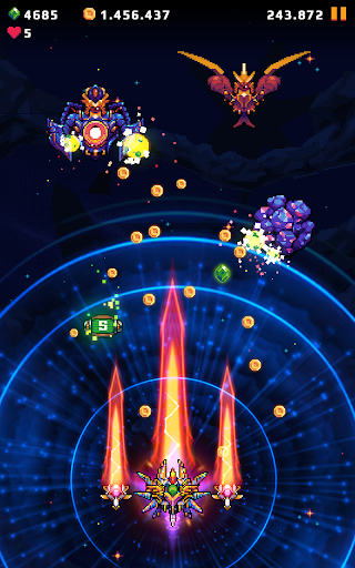 Galaxy Shooter : Falcon Squad Premium Varies with device screenshots 6
