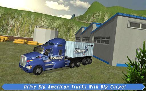 Cargo Truck Driver: American Transport  screenshots 14