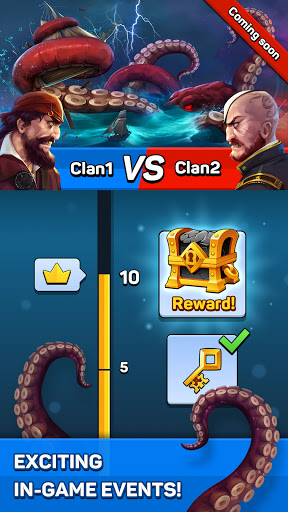 Pirates & Puzzles - PVP Pirate Battles & Match 3  screenshots 8
