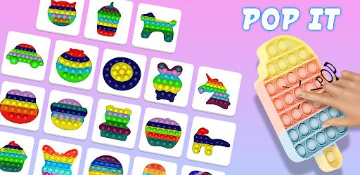 Pop It Sensory Fidget cube toys 3d Anxiety Relief  screenshots 1
