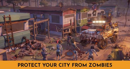 Code Triche Zombie Survival Battle: Apocalypse Tsunami (Astuce) APK MOD screenshots 3