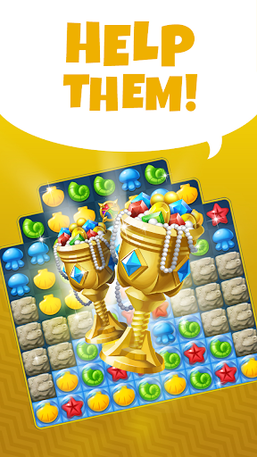 Ocean Splash Match 3: Free Puzzle Games 3.6.0 screenshots 2