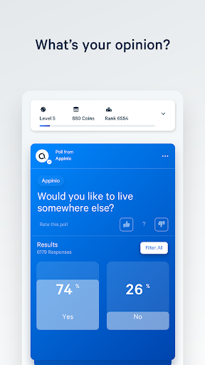 Appinio - Compare Your Opinion & Earn Vouchers apktram screenshots 1