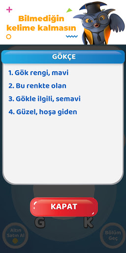 Bilgelik Online Kelime Bulma Oyunu  screenshots 5