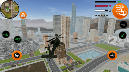Iron Stickman Vegas Crime Rope Hero Simulator 1.1 screenshots 1