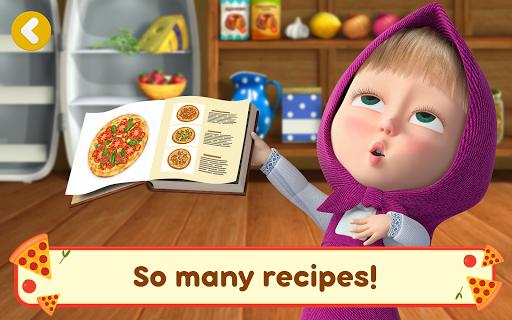 Masha and the Bear Pizzeria Game! Pizza Maker Game  screenshots 11