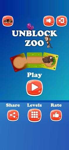 Unblock Animals Zoo Slide Tile Puzzle screenshots 1