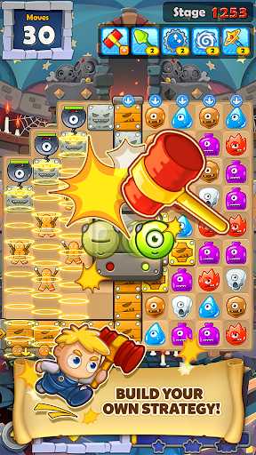 MonsterBusters: Match 3 Puzzle  screenshots 8