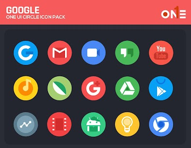OneUI Circle Icon Pack 2