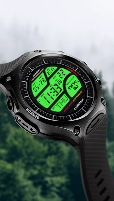 A41 WatchFace for LG G Watch Rのおすすめ画像2