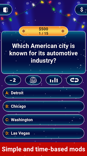 Millionaire 2020 -  Free Trivia Quiz Offline Game 1.5.3.3 Screenshots 8