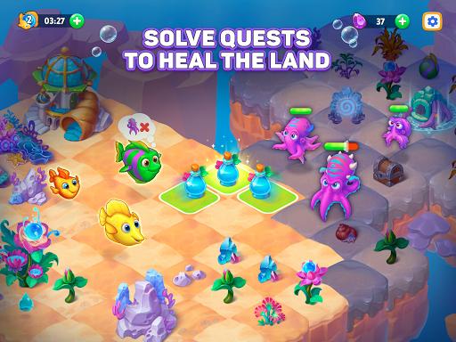 Sea Merge! Fish Games in Aquarium & Ocean Puzzle  screenshots 13