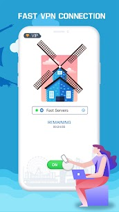 Free VPN Booster-Free Fast Private  Secure VPN Proxy Apk Download 2021 4