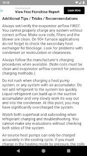 Refrigerant Troubleshooting