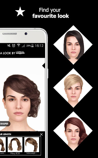 Style My Hair: Discover Your Next Look modavailable screenshots 7