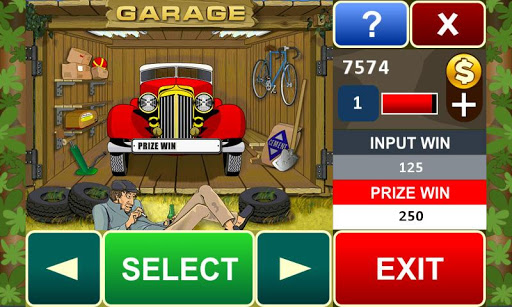 Garage slot machine 16 5