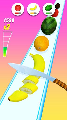 Food Slicer – Slice Veggies, Fruits, Bread, Cakes  screenshots 1
