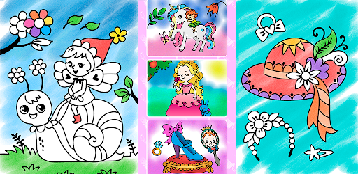Coloring pages for little princesses  screenshots 8