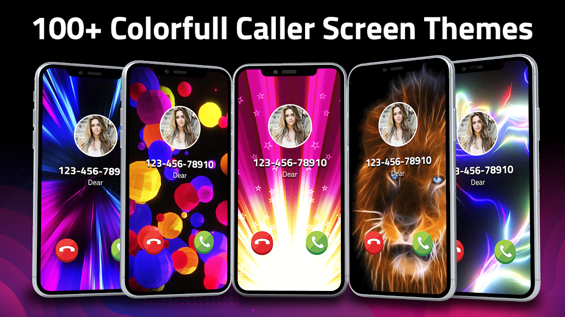 Flash Launcher: Call Screen Color Themes Android App Screenshot