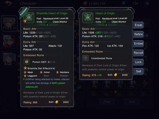 Castle Legend3: City of Eternity 2.1.6 screenshots 13