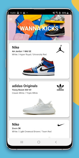 Wanna Kicks : sneaker camera 1.1.60 Screenshots 1