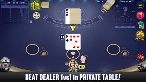 Blackjack 21: House of Blackjack 1.6.1 screenshots 4