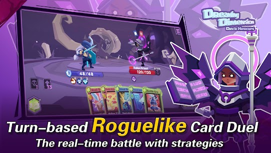 Dreaming Dimension Mod Apk: Deck Heroes (Unlimited Coins) 2